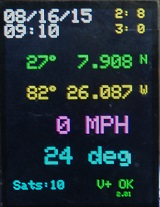 W2DEN's APRS Tracker Display