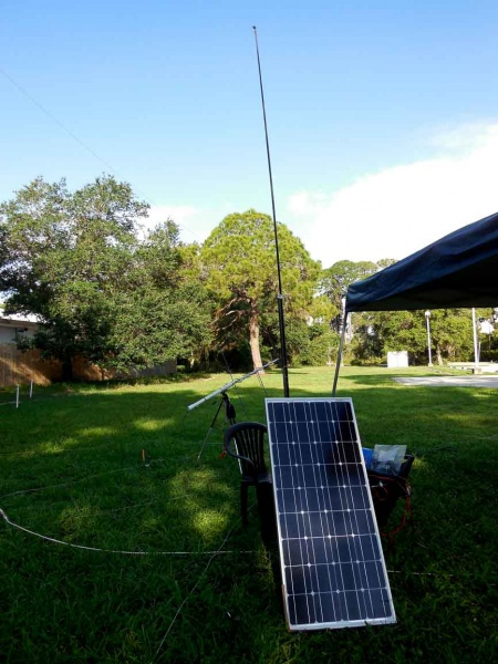 Bill (N9US)'s solar panel