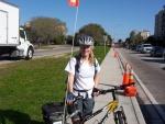 Laura, KJ4IJV - Bicycle Mobile